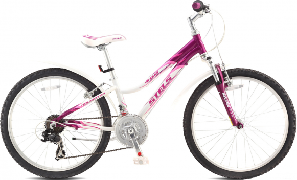 "Велосипед STELS Navigator-460 V 11.5"" (2017, пурпурный/белый/розовый)"